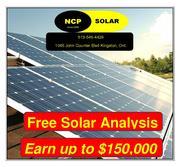 FREE SOLAR ANALYSIS - JOIN THE ONTARIO MICROFIT PROGRAM TODAY