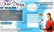 Professional Web Design at Affordable rates and 100% satisfaction...Sa