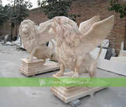Customize and export different style stone lion statues with good pric